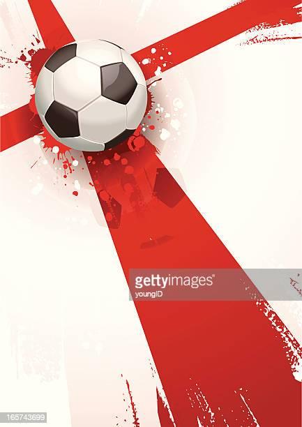 England Soccer Background