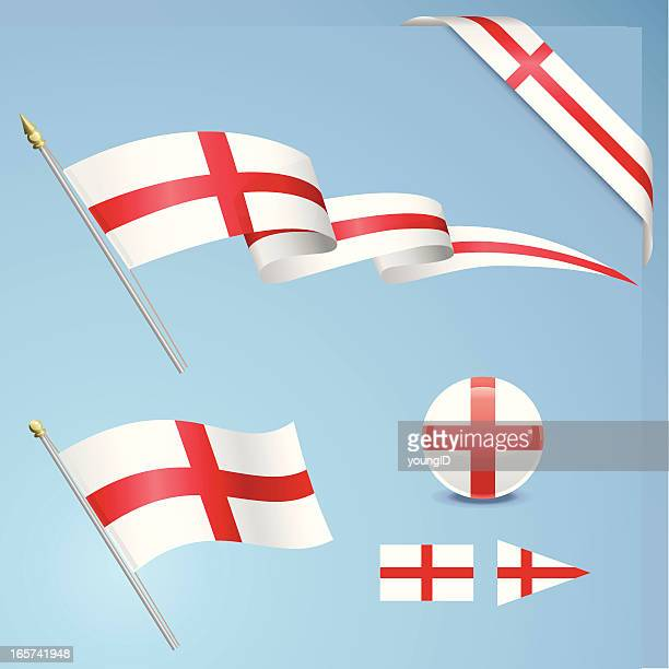 English Flag Set