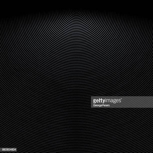 Engraved Striped pattern technology background