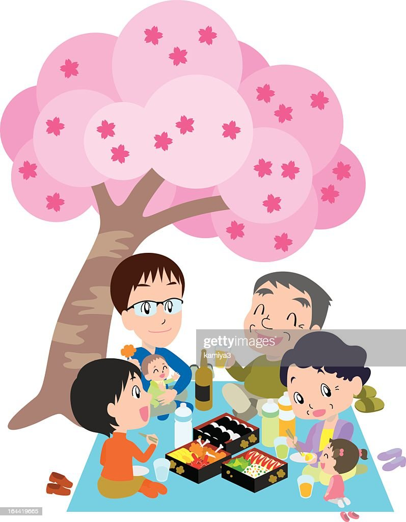 Enjoying seeing cherry blossom done with my family
