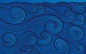 Enraged Hand-drawn Waves