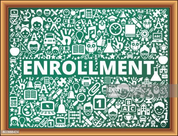 登録学校と教育黒板ベクトル アイコン - 加入点のイラスト素材/クリップアート素材/マンガ素材/アイコン素材
