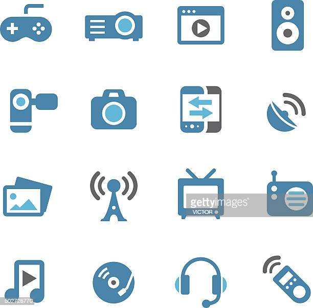 Entertainment and Media Icons - Conc Series