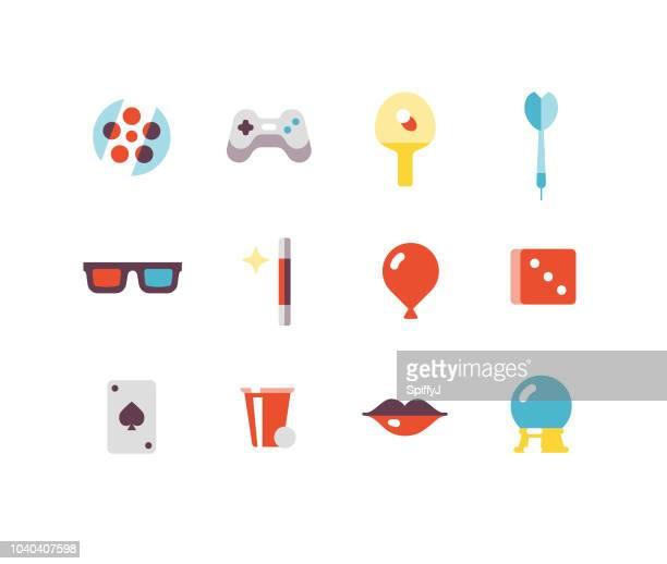 Entertainment Flat icons