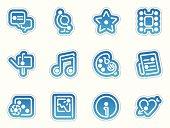 entertainment icons - azul frontera