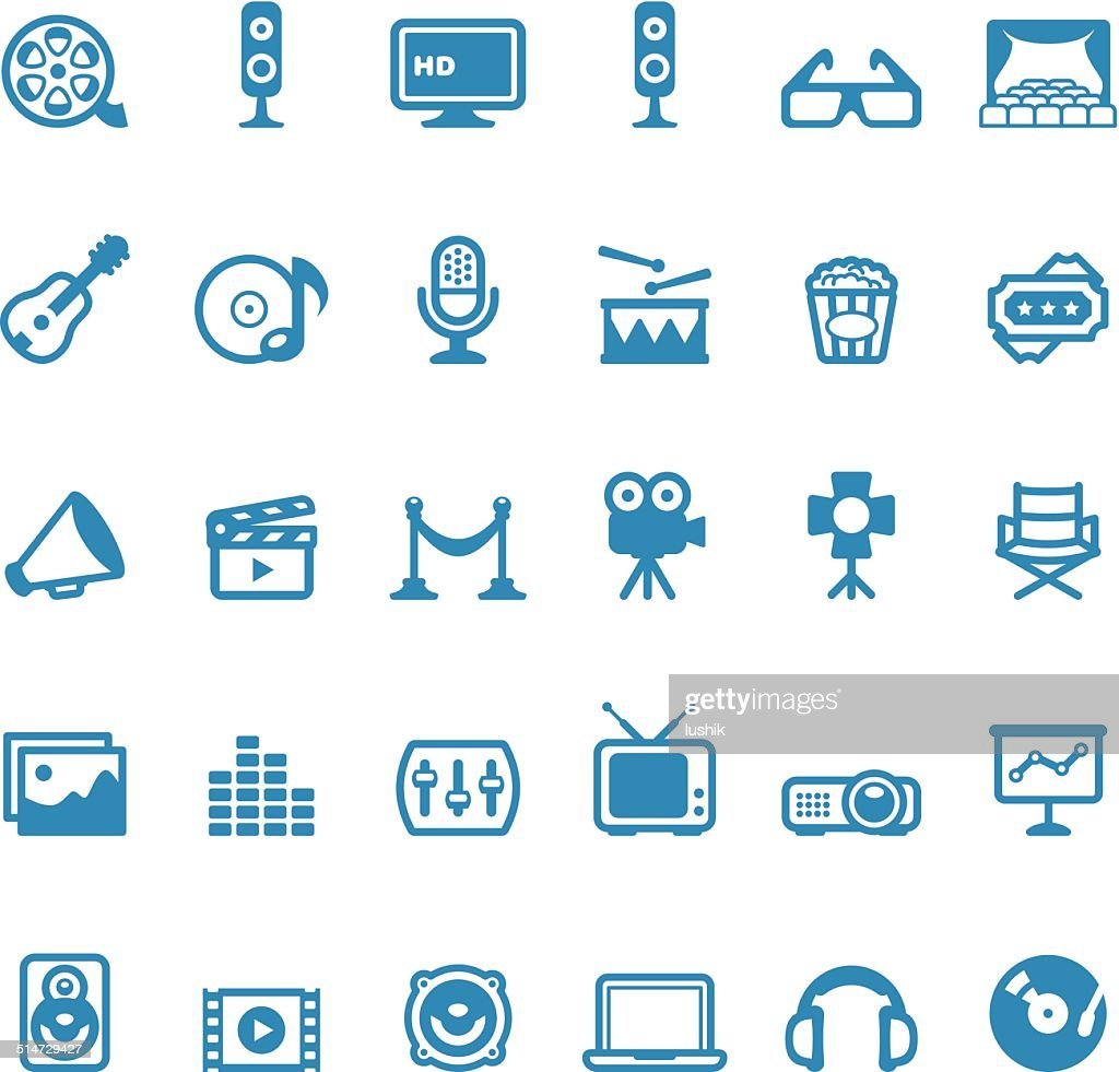 Entertainment icons / Linico series