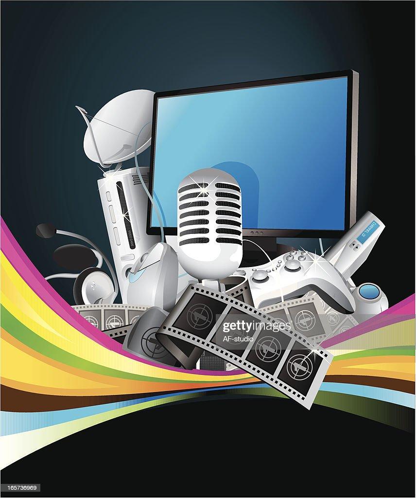 Entertainment mix