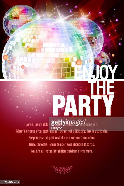 Entertainment - Party Background with Disco Balls