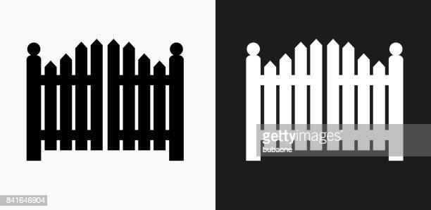 黒と白のベクトルの背景の入り口ゲート アイコン - 門点のイラスト素材/クリップアート素材/マンガ素材/アイコン素材