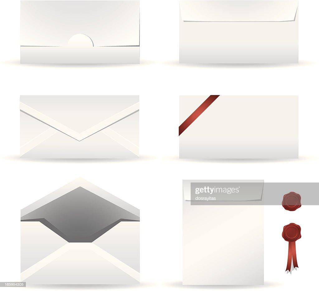 Envelope Design Template Vector Art Getty Images