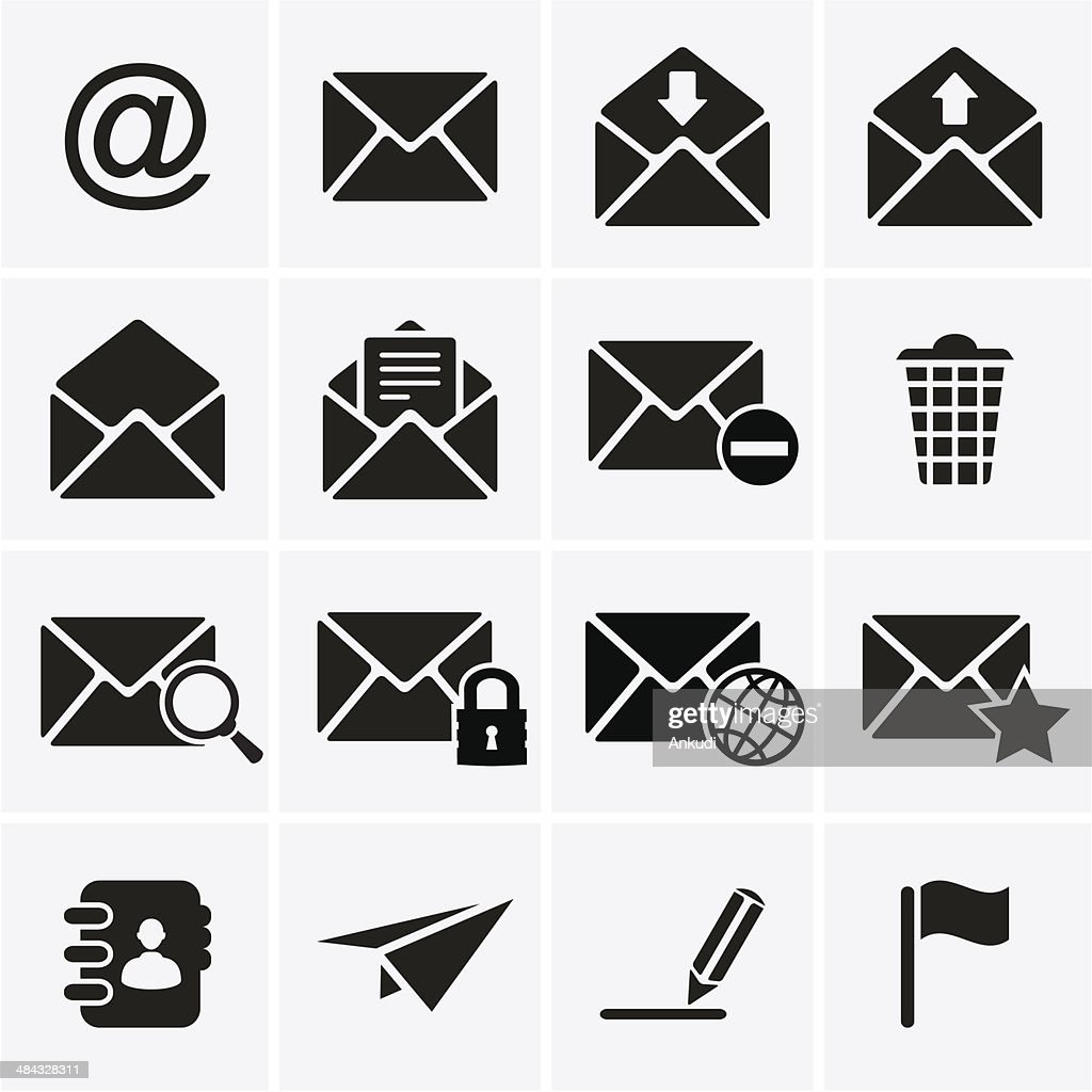 Envelope, E-mail Icons