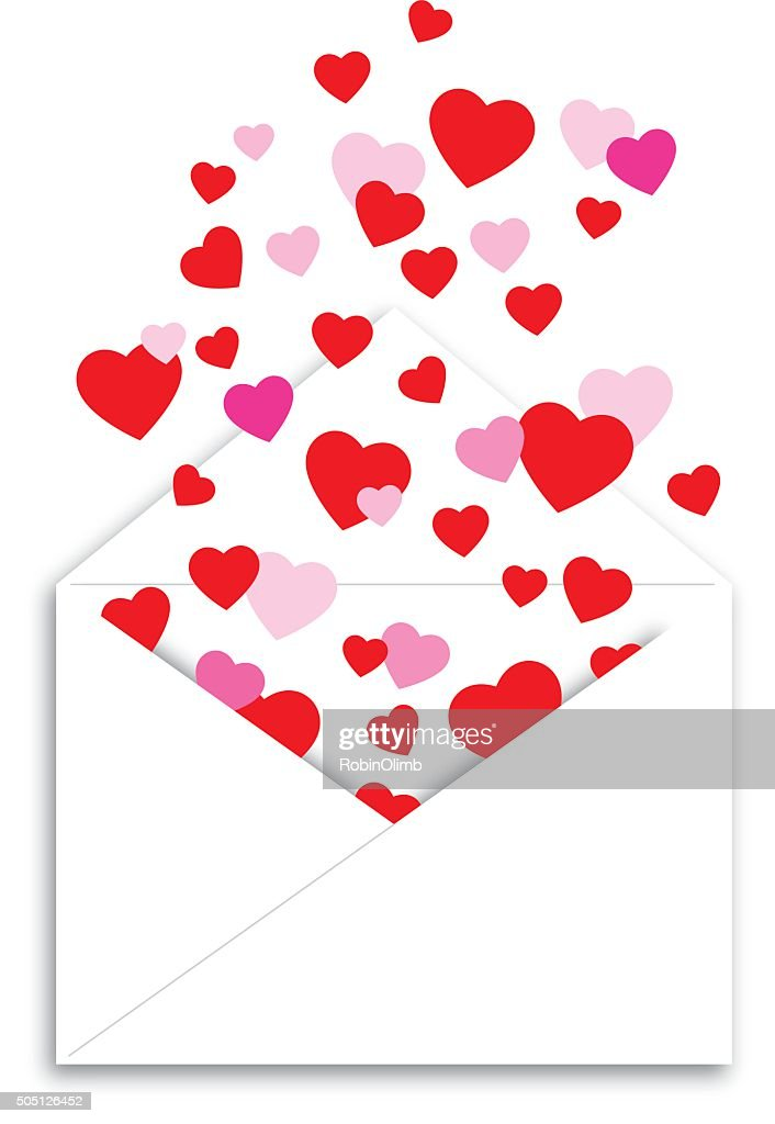 Envelope Of Hearts