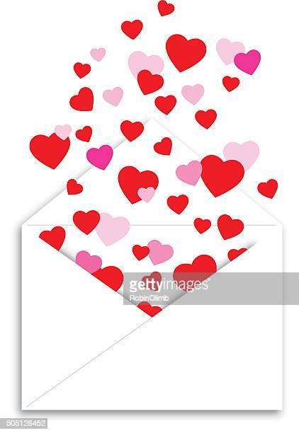 ilustraciones, imágenes clip art, dibujos animados e iconos de stock de forma de corazones - flotando en el aire