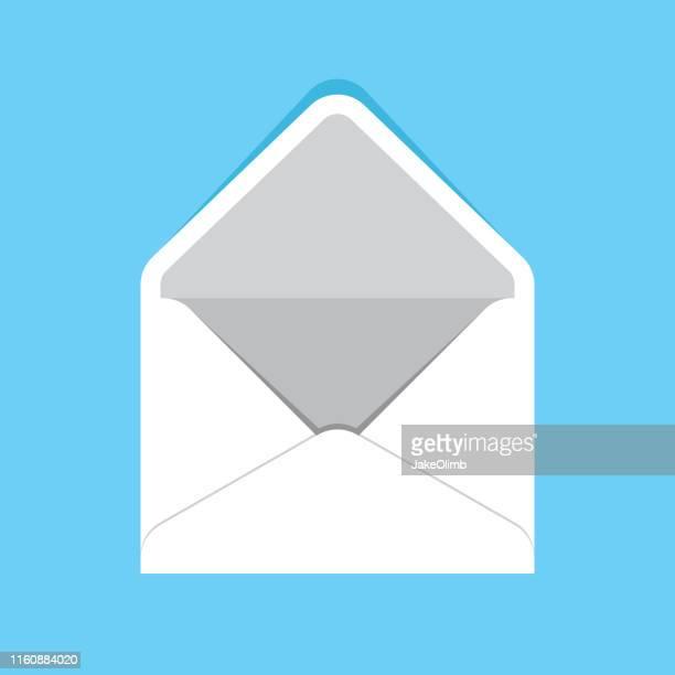 封筒開く - 発送書類入れ点のイラスト素材/クリップアート素材/マンガ素材/アイコン素材