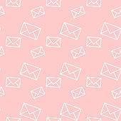 Envelope pattern/ letter background