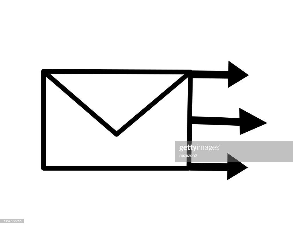 envelope vector illustration