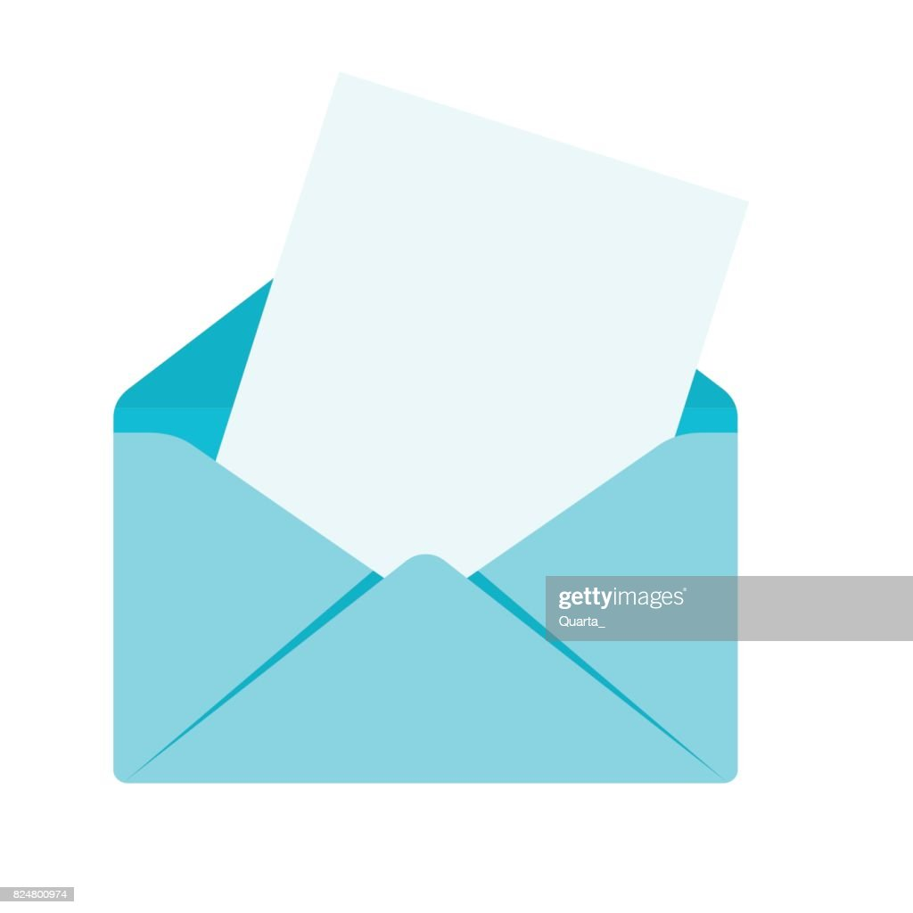envelope with sheet