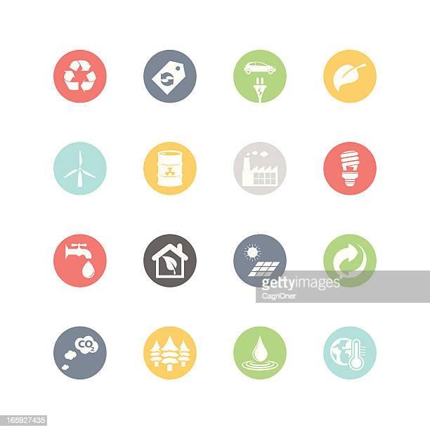 Environment Icons : Minimal Style
