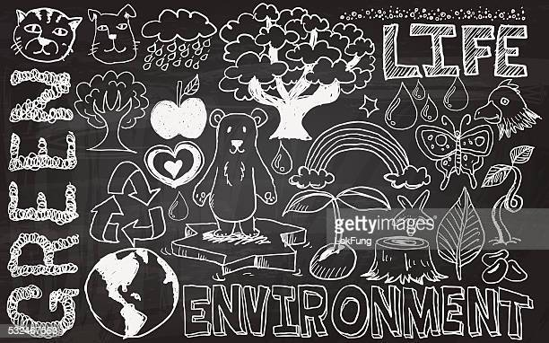 environment issue collection - dehydration stock illustrations, clip art, cartoons, & icons