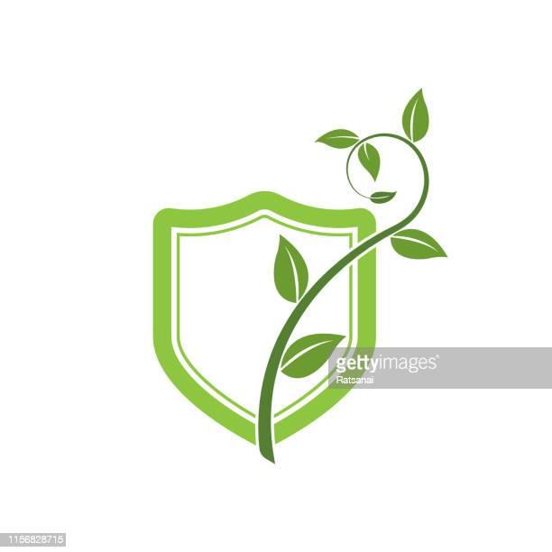 environment protection - cedar tree stock illustrations, clip art, cartoons, & icons