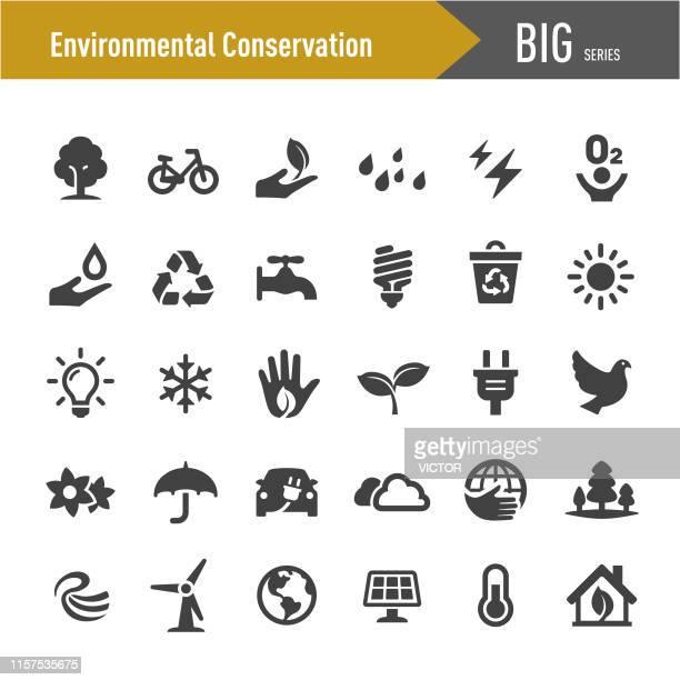 環境保全アイコン - ビッグシリーズ - 電気点のイラスト素材/クリップアート素材/マンガ素材/アイコン素材