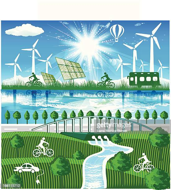 environmental conservation - climate stock illustrations, clip art, cartoons, & icons