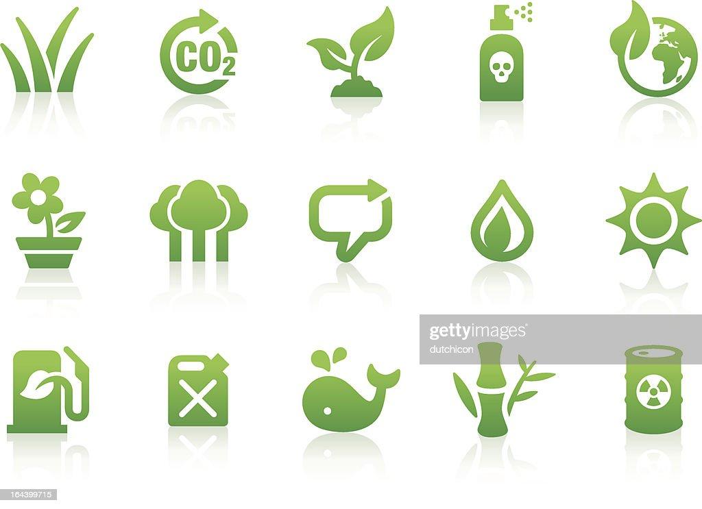 Environmental icons 1