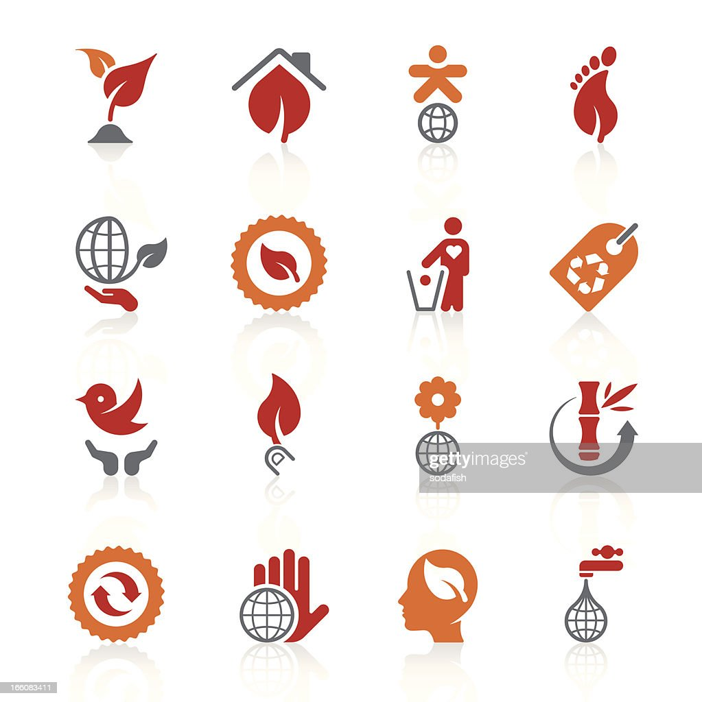 Environmental icons   alto series