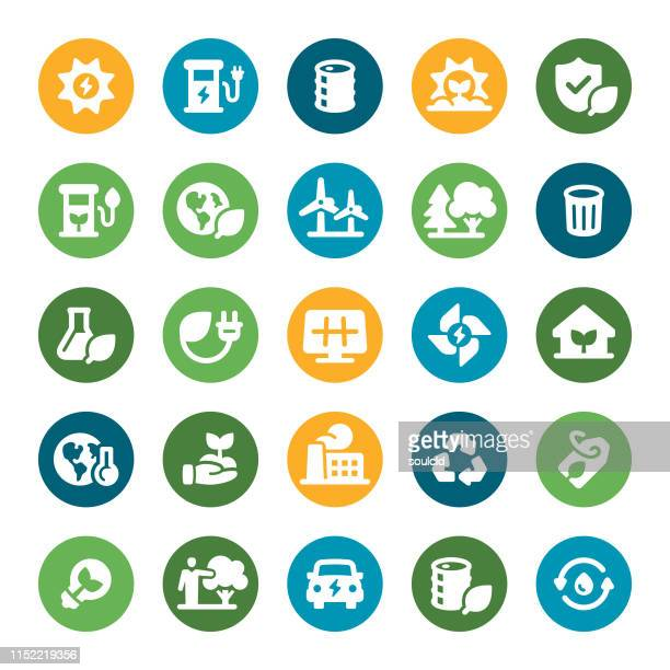 environmental icons - biodiesel stock illustrations, clip art, cartoons, & icons