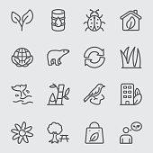 Environmental line icon