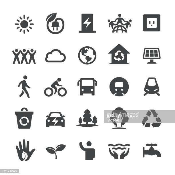 environmental protection icons - smart series - train vehicle stock illustrations