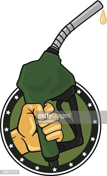 environmental pump - biodiesel stock illustrations, clip art, cartoons, & icons