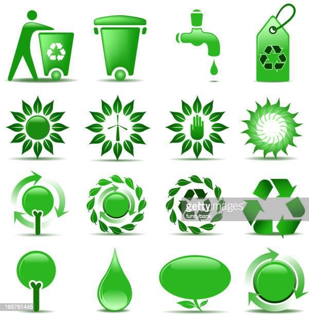environmentalist symbols - dehydration stock illustrations, clip art, cartoons, & icons