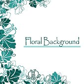 Eps10   design. vector beautiful flower background art