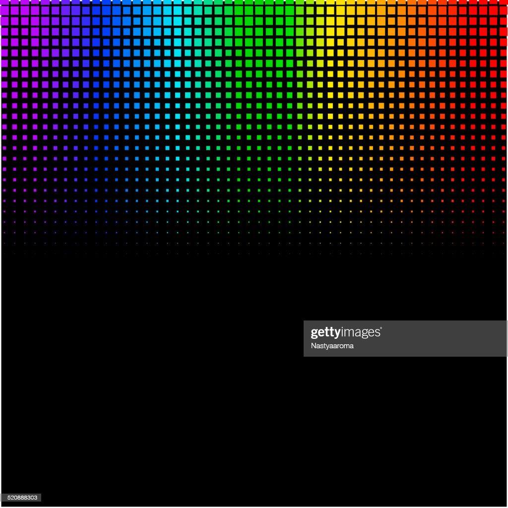 Equalizer digital. color vector illustration. 10 eps