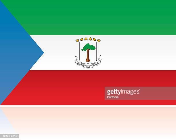 Äquatorial Guinea Landesflagge, Zentralafrika