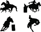 Equestrian sports: Rodeo