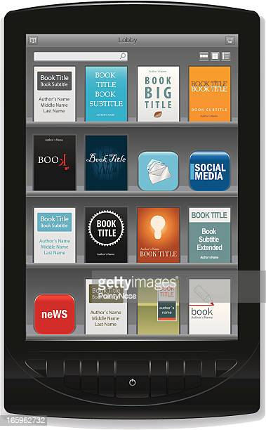 e-Reader With e-Book Store App