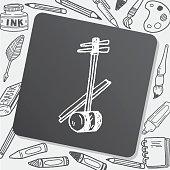 Erhu doodle
