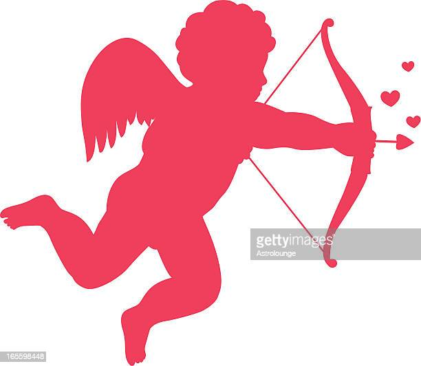 stockillustraties, clipart, cartoons en iconen met eros - cupidon