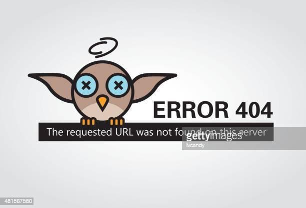 ilustrações, clipart, desenhos animados e ícones de erro 404 - mensagem de erro