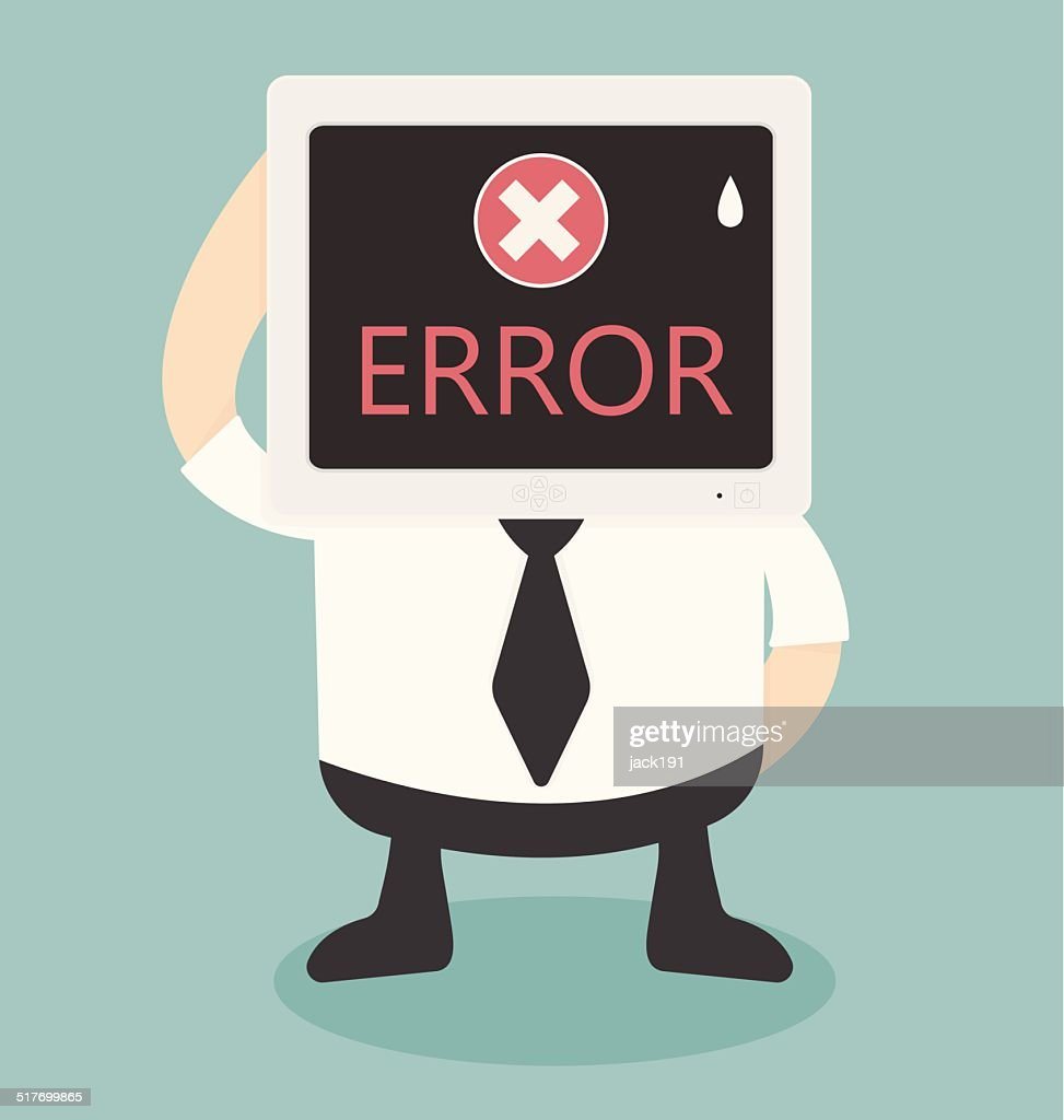 error message on computer