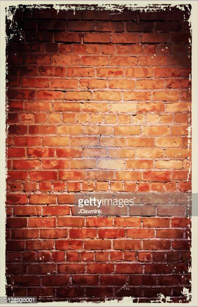 illustrations, cliparts, dessins animés et icônes de texture de mur de brique évasion chambre anniversaire fête célébration - mur de briques