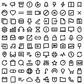 Essential icons 100 pack