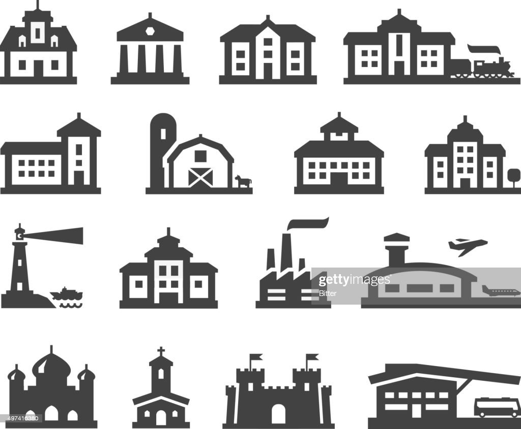estate vector logo design template. house or building icons