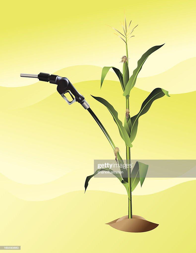 Ethanol : stock illustration
