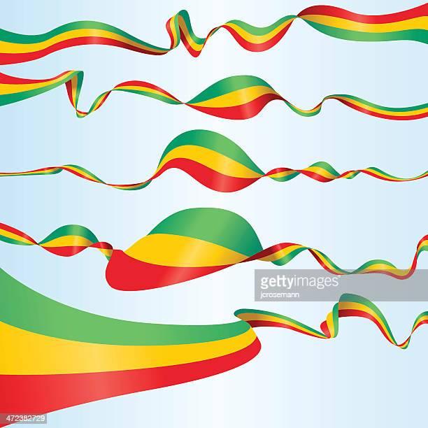 ethiopian banners - ethiopia stock illustrations, clip art, cartoons, & icons