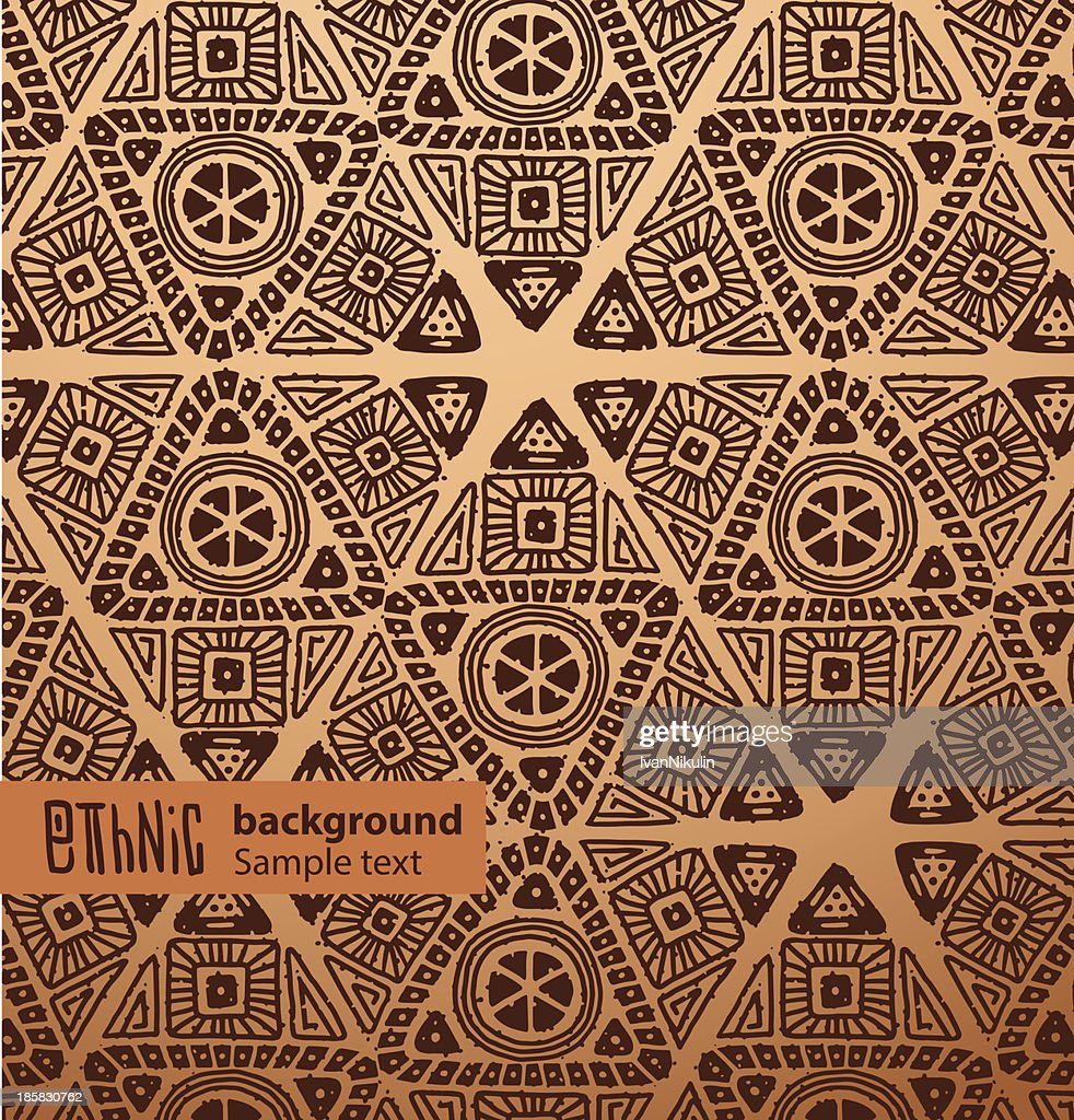 Ethnic background, brown triangles