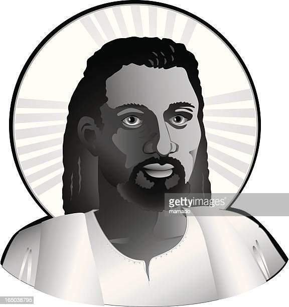 Ethnic Jesus (vector)
