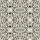 ethnic ornamental seamless pattern